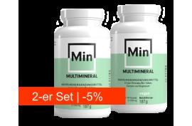 Multimineral von THUSTMED (180 Kaps)   Calcium-Kalium-Magnesium hochdosiert   2-er-Set -5%