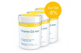 Vitamin D3 2.000 I.E. (90 Kaps.) von MSE | 3-er Set -8%