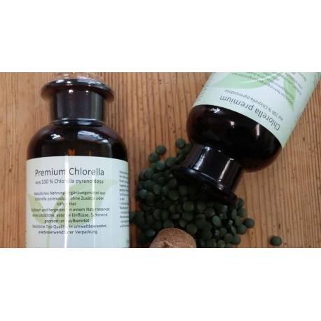 PREMIUM Chlorella à 200 mg (ca. 900 Pressl.)