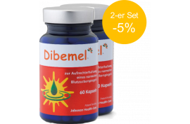 Dibemel (60 Kaps.) von JABOSAN | Blutzucker-Regulierung | 2-er Set (-5%)