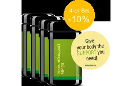 ImmuneSupport MP90 (90 Kaps) von MYKOPLAN | Stärkung, Modulation Immunsystem | 4-er Pack -10%