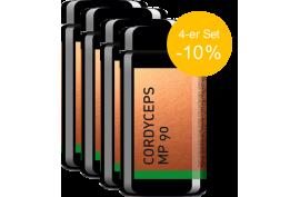 Cordyceps MP90 (90 Kaps) von MYKOPLAN | Burnout, Erschöpfung, Regeneration | 4-er Set -10%