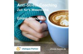 Anti-Stress Coaching | Einzelstunden