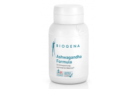 Ashwagandha Formula von Biogena (60 Kaps.) | Entspannung, Balance, Schlaf