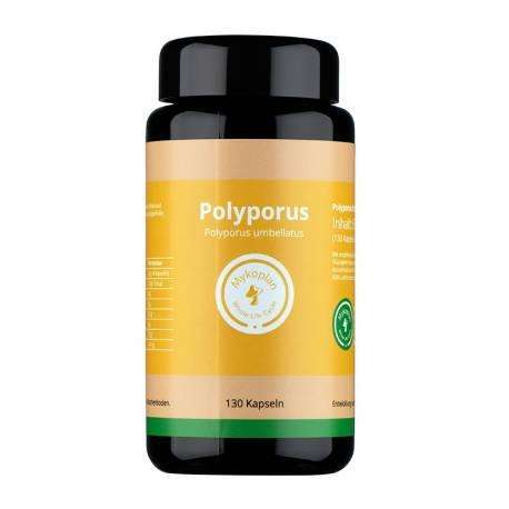 Bio Polyporus Vitalpilz (130 Kaps) vo MYKOPLAN | Immunmodulation, Blutdruck, Entwässerung