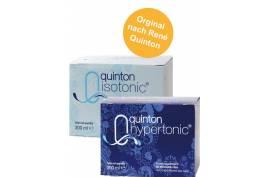 Quinton Marines Plasma: 1 x ISOTONIC + 1 x HYPERTONIC (je 30 x 10 ml) | Zellgesundheit, Remineralisierung