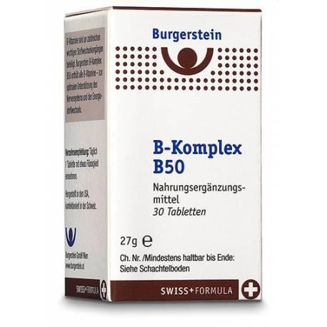 Burgerstein Vitamin B-Komplex B50
