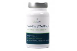 multidim Vitamin B (60 Kaps.) von VITALSEE | Vitamin B-Komplex