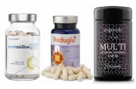Better-Aging-Paket zum Vorteilspreis: 1 Reduglu, 1 Mul'Ti, 1 Spermidine