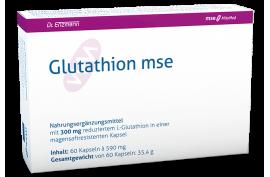 Glutathion 300 mg (60 Kaps.) von MSE | Zellschutz, Entgiftung