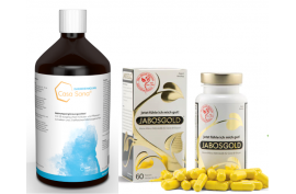 Stoffwechsel-Paket Nr. 1: 1xCS Darmreinigung (500 ml), 1xJabosgold (60 Kaps.) | Stoffwechsel Aktivierung und -Reinigung