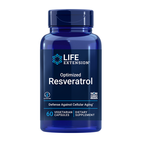 LE Optimized Resveratrol (60 Kaps.) | Zellschutz, Antioxidans, Better-Aging